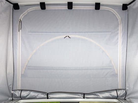 Iso top interior tent for California T6 and T6.1, ISO-TOP MK VI insulation for VW T6 / T6.1 el.hydraulic pop-up roof