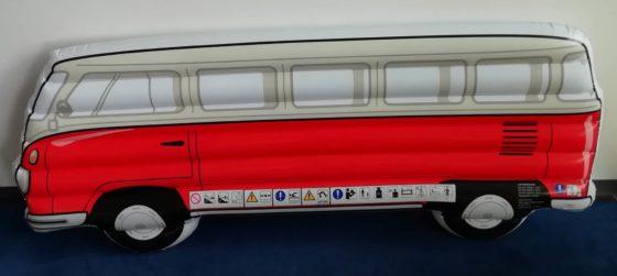 Stylische VW T1 Luftmatratze