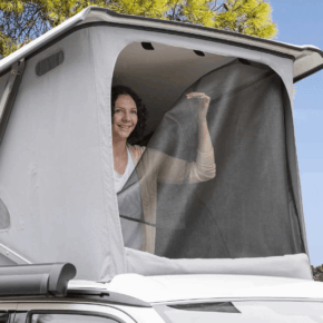 FLYOUT mosquito net for ISO-TOP MK VI for VW T6 / T6.1 California