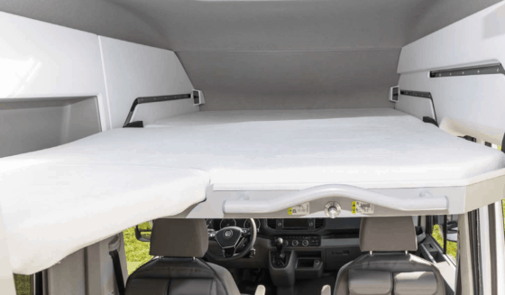 iXTEND fitted sheet for the loft bed in the Volkswagen Grand California 600, 2-piece, nicki plush