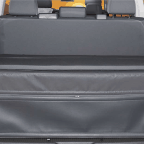 FLEXBAG rear end for rear cargo area, VW T6.1 / T6 / T5 Beach with 3-seater bench and Multivan