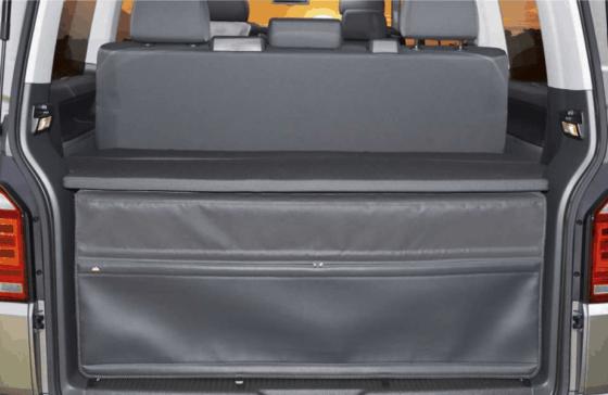 FLEXBAG Heckabschluss für Heckladeraum, VW T6.1 / T6 / T5 Beach mit 3er-Bank und Multivan