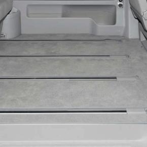 """Brandrup Teppich: Veloursteppich für den Fahrgastraum mit einer Schiebetür des VW T6.1 / T6 / T5 Beach mit 3er-Bank ab 2011 und alle Multivan im Design """"Palladium"""""""