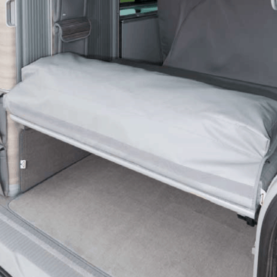 """Brandrup FLEXBAG rear end, also for rear loading space, VW T6.1 California and Beach with 2-seater bench, design """"Palladium"""""""