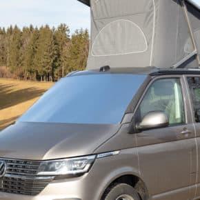 100701580 - ISOLITE Outdoor Abdeckung von Brandrup für die Windschutzscheibe außen, passgenau für VW T6.1 / T6 / T5
