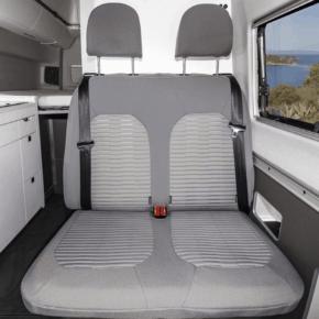 Second Skin Schonbezüge für die 2er-Bank / Bett im VW Grand California 600 und 680