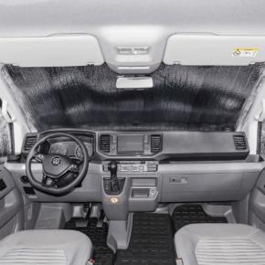 ISOLITE Outdoor PLUS Isolierung für VW T6.1 für die Windschutzscheibe außen und die Fahrerhausseitenfenster innen