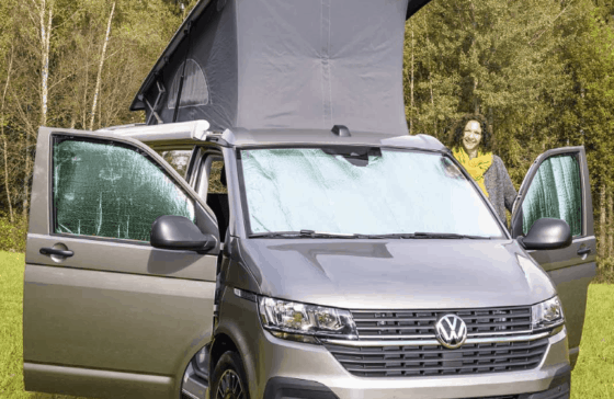 Brandrup Isolite Inside Isolierung für das Fahrerhaus VW T5 T6 T6.1