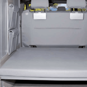 "Protective cover for the serial rear upholstery of the VW T6 / T5 in the design ""Palladium"""