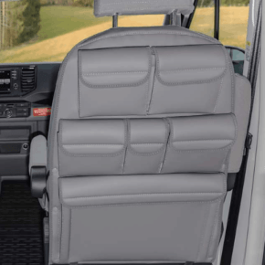 Utility for the backrest in the cab of the VW Grand California 600 and 680