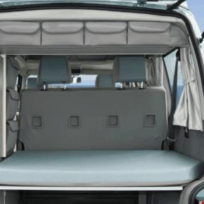 """UTILITY Taschen zur Anbringung oben horizontal am hinteren Abschluss des Kleiderschrank im VW T4 California Coach im Design """"Palladium"""""""