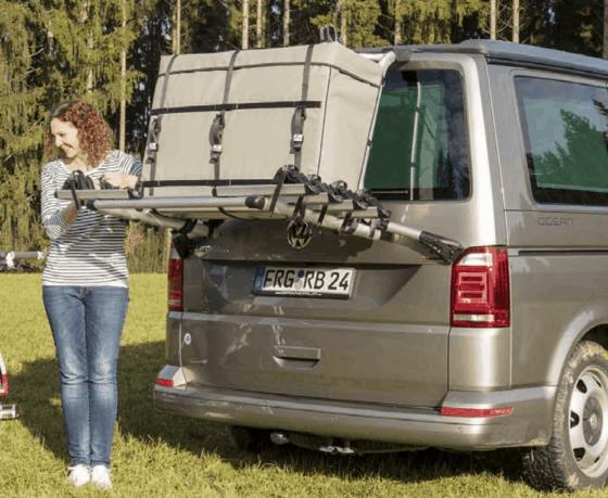"100501007 FLEXBAG Cargo for original VW T6 rear luggage rack 7E0 071 104, design ""Palladium"""