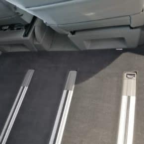 Veloursteppich für Fahrgastraum für VW T6.1 Beach Camper mit 3er-Bank und 1 Schiebetür