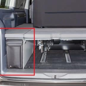 UTILITY for the storage cupboard in the VW T6.1 California Beach with 2-seater bench