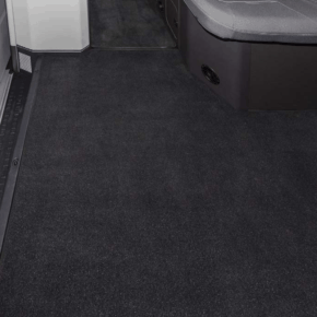 Brandrup velor carpet for the passenger compartment in the VW Grand California 600! Our online shop offers a wide range of vehicle accessories