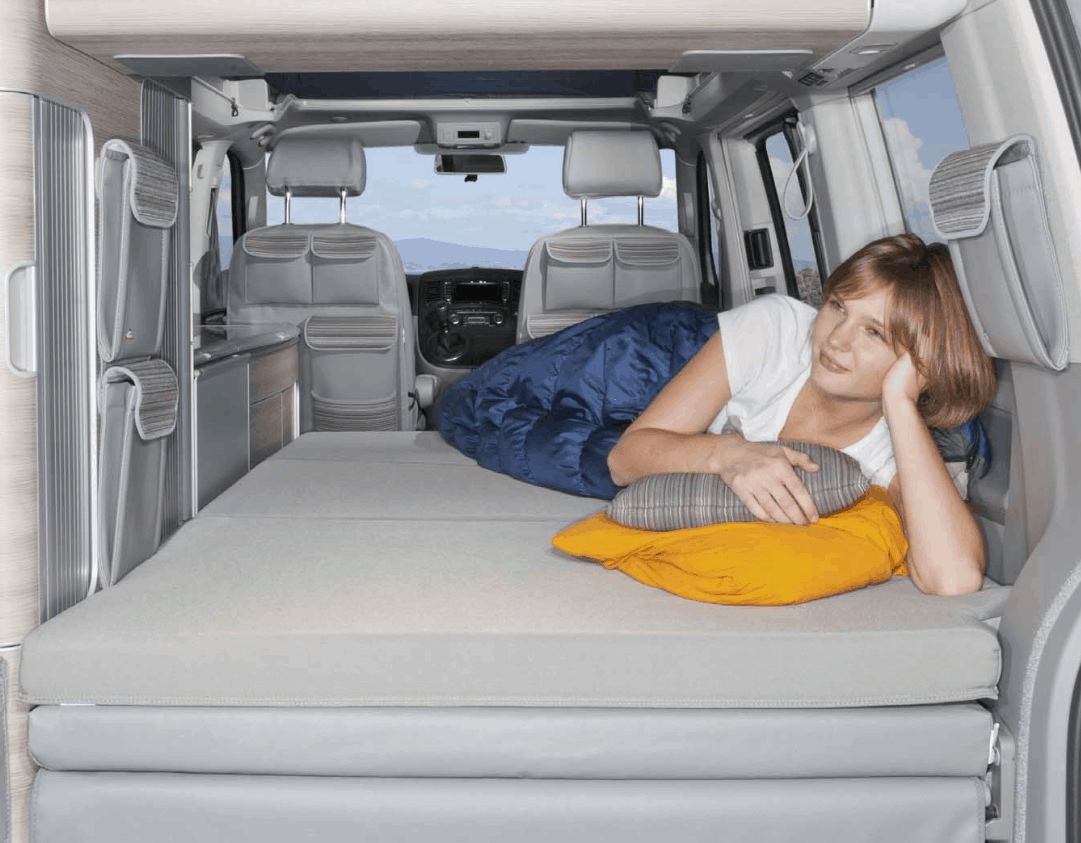 - IXTEND Allround Folding Bed For VW T6.1 / T6 / T5 California (without