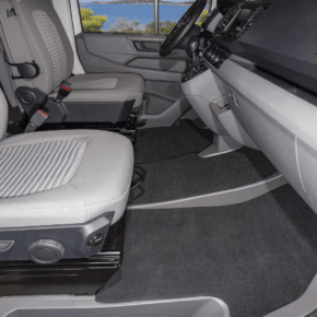 Brandrup carpets for the cab in the VW Grand California 600 and 680 - velours! Our shop offers a large selection of vehicle accessories