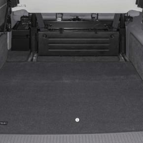 """Brandrup Veloursteppich für Laderaum des VW T6 / T5 California (ohne Beach) im Design """"Titanschwarz"""""""