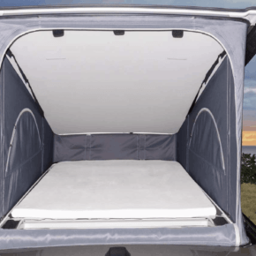 "Brandrup iXTEND bed sheet: cover for the mattress in the pop-up roof of the VW T6.1 California in the design ""Nicki plush"" - WIEST Online Shop"