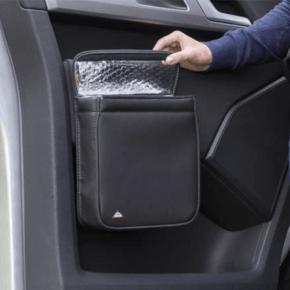 """Multibox für die Türen im VW T5 Fahrerhaus, ideal als Isoliertasche und/oder Abfallbehälter im Design """"Leder Palladium"""" - Wiest online Shop"""