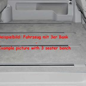 Brandrup Teppich (Velours) für Fahrgastraum des VW T6.1 California Beach mit 2er-Bank im Design Palladium - Wiest Online Shop