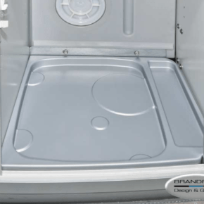 Brandrup toilet tub for Porta Potti 335 Qube in VW T6.1 / T6 / T5 California with detergent closet