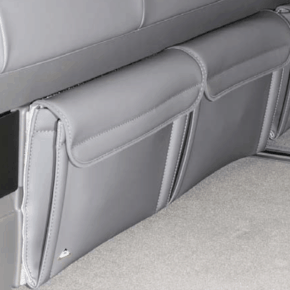 2 Brandrup Utility bags for the front of the bed box in the VW T6.1 / T6 / T5 California