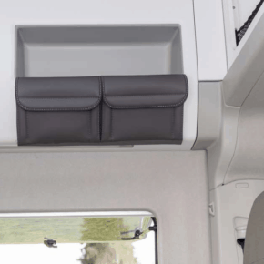 Utilities 2 pockets for the storage cabinet on the right above the seating area in the VW Grand California 680