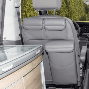 Utility with MULTIBOX for the backrest on the driver's seat in the VW T6.1 / T6 / T5 California - Wiest online shop for brandrup items