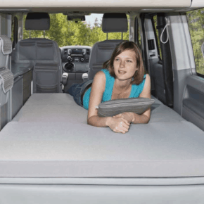 "Brandrup iXTEND Allround Faltbett + iXTEND PAD für den VW T5 California (ohne Beach) im Design ""Palladium"""