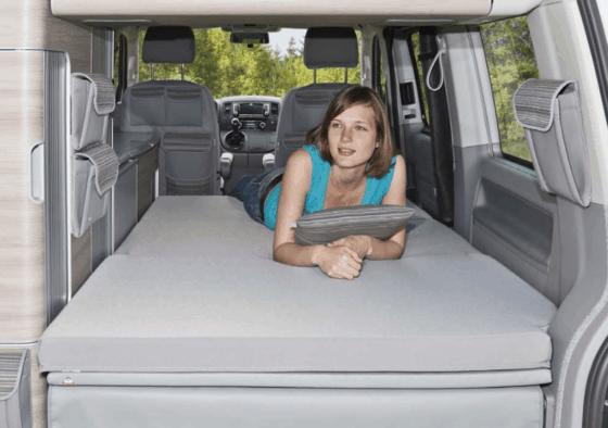 """Brandrup iXTEND Allround Faltbett + iXTEND PAD für den VW T5 California (ohne Beach) im Design """"Palladium"""""""