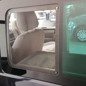 VW fly screens for the sliding windows in the VW T5 / T6 / T6.1, perfect fit for left / right - Wiest online shop for camper and van equipment