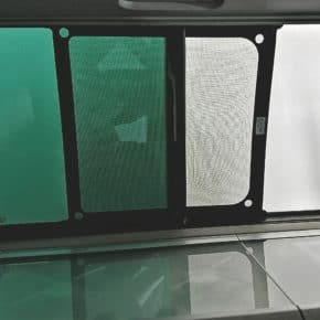 VW fly screen for the sliding windows in the VW T6.1, perfect fit for left / right - Wiest
