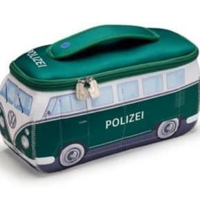 """VW Kulturtasche """"Polizeiwagen"""" - Multifunktionstasche mit Aufdruck"""
