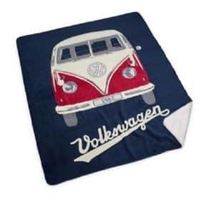 VW cozy blanket - microfleece in VW T1 design