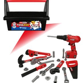 Kinderspielzeug - KS TOOLS Werkzeug-Box für Kinder