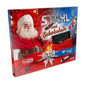 """Stahl statt Schokolade"" Adventskalender 2020 von KS Tools"