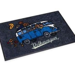 Doormat with 6o cm x 40 cm 1H3087703A - VW floor mat in VW T1 motif