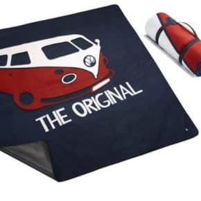 VW Picknickdecke mit VW T1 Motiv