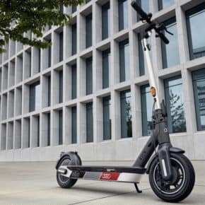 Audi electric kick scooter von Segway