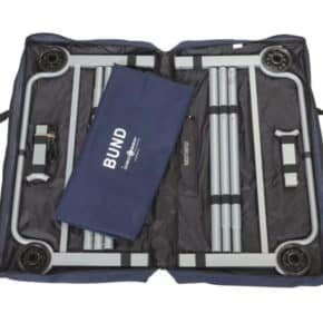The Disc-O-Bed Bund-Bed - bed with a large lying area is a bed developed for the most extreme situations, especially for the THW