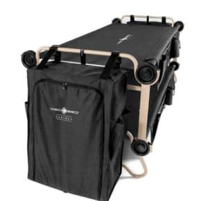 Disc-O-Bed Cabinet - The cloakroom and wardrobe for the camping bed