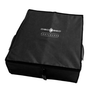 Disc-o-bed Footlocker - storage system for items of clothing on the go - under the cot
