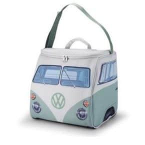VW Bulli Kühltasche in grün - thermoisolierende Kühltasche