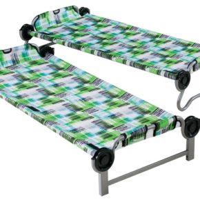 Kid-O-Bunk von Disc-o-bed in block pattern- Einzeln stehend