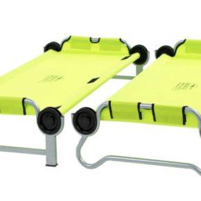 Kid-O-Bunk von Disc-o-bed in grün - Einzeln stehend