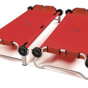 Kid-O-Bunk von Disc-o-bed in rot - Einzeln stehend