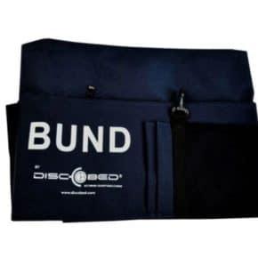 Bund-Bed Feldbett-Seitentasche in blau als zusätzlicher Stauraum für das Disc-O-Bed - Wiest Online Shop für Campingzubehör