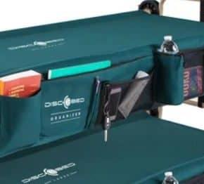 Sol-O-Cot Feldbett-Seitentasche in grün als zusätzlicher Stauraum für das Disc-O-Bed - Wiest Online Shop für Campingzubehör
