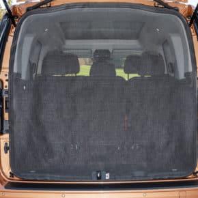 Das Brandrup Moskitonetz für den VW Caddy 5 / Caddy California kann an der Heckklappe angebracht werden